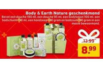 body en earth nature geschenkmand
