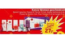 kenzo woman geschenkset
