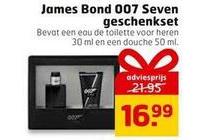 james bond 007 seven geschenkset