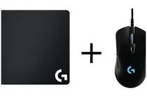 logitech g403 prodigy gaming muis g240 muismat