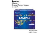 tampax regular of super