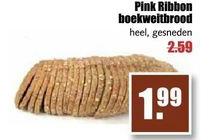 pink ribbon boekweitbrood