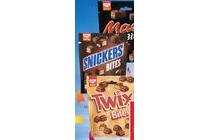 mars snickers of twix bites