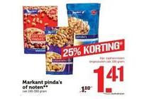 markant pinda s of noten
