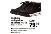 redbrick veiligheidssneakers ice s3 nu eur79 95