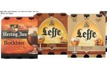 hertog jan bockbier en leffe bier 6 pack