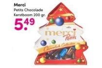 merci petits chocolade kerstboom
