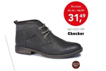 checker bootees nu eur31 49