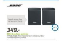 bose draadloze speakers