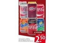 coca cola sprite dr pepper of fanta