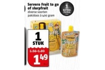 servero fruit to go of slurpfruit