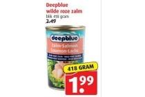 deepblue wilde roze zalm