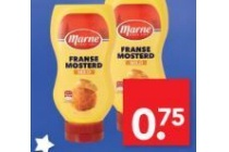 marne mosterd in fles