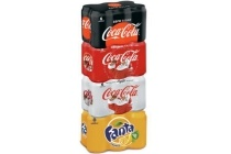 coca cola en fanta 6 pack
