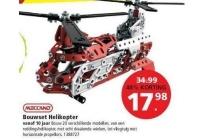 meccano bouwset helikopter