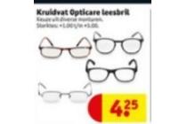 kruidvat opticare leesbril nu eur4 25