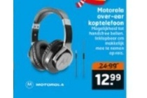 motorola over ear koptelefoon
