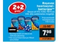 rayovac hoortoestel batterijen