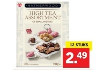 high tea assortiment