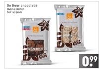 de heer chocolade