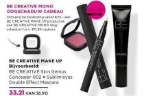 be creative make up