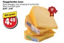 koggelandse kaas oud overjarig of oud komijn