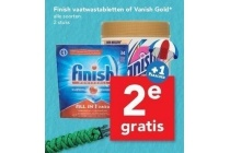 finisch vaatwastabletten of vanish gold