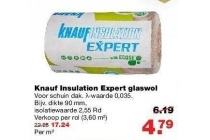knauf insulation expert glaswol