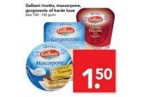 galbani ricotta mascarpone gorgonzola of harde kaas