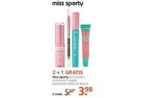 miss sporty make up
