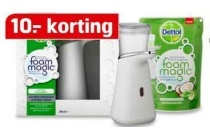 dettol foam magic dispenser starterkit