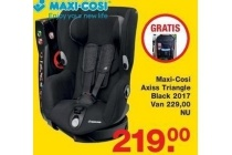 maxi cosi axiss triangle black 2017