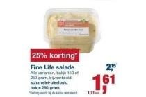 fine life salade