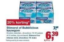 stimorol of bubblicious kauwgom