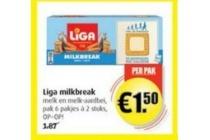 liga milkbreak