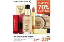 max factor lip en teint make up