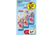 aquafresh tandenborstel multipak