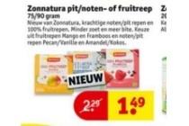 zonnatura pit noten of fruitreep