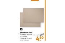 placemat pvc