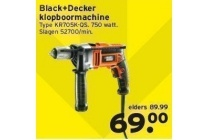 black decker klopboormachine type kr705k qs