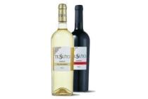 tessuto italie puglia falanghina primitivo of rosato fles 750 ml