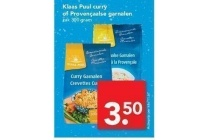 klaas puul curry of provencaalse garnalen