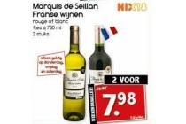 marquis de seillan franse wijnen