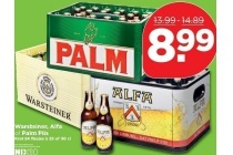 warsteiner alfa of palm pils
