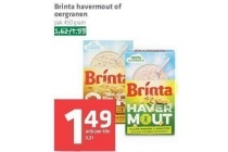 brinta havermout of oergranen