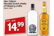 glen talloch whisky of esbjaerg wodka