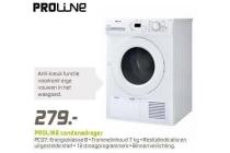 proline wasdroger pcd7