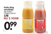 fruity king smoothies