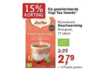 geselecteerde yogi tea theeen