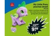 my little pony pluchen draak